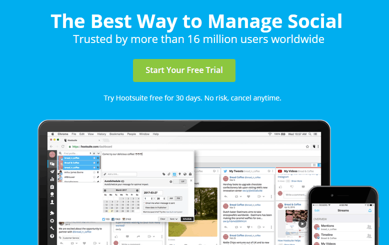 HootSuite Social Media Manager