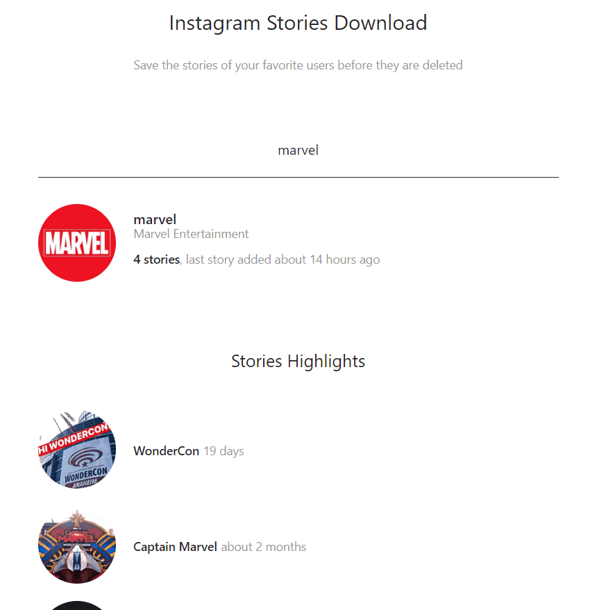 Storiesig - How to download Instagram stories