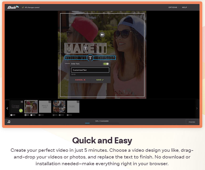 Shakr - Create Instagram Video Ads